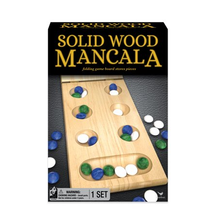 Solid Wood Folding Mancala Strategy Game (Best Real Time Strategy Games Of All Time)