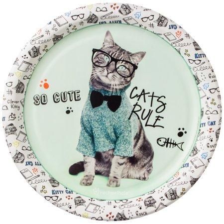 Rachael Hale Cats Rule Dinner Plates (8)