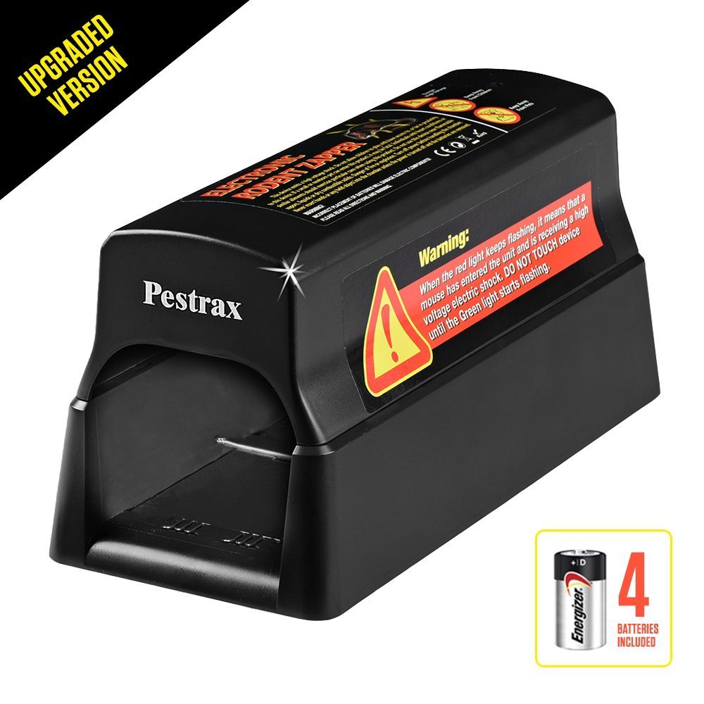 Pestrax Electronic Mouse Trap Used for Rats Mice Humane Electric