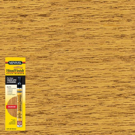 Minwax Wood Finish Stain Marker, Golden Oak, 1/3