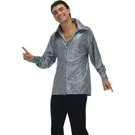 Hustle Hunk Shirt Adult Halloween Costume