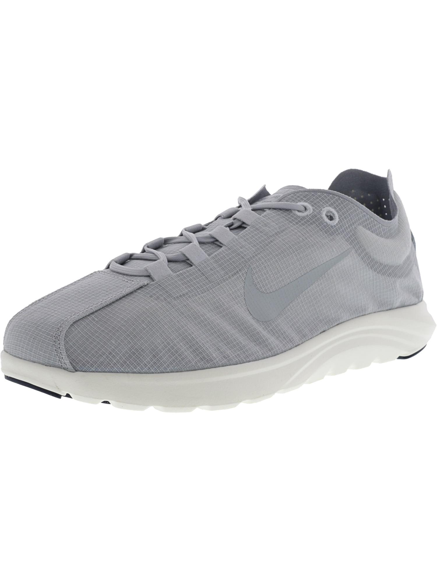 Nike Women's Mayfly Lite Pinnacle Pure Platinum / Wolf Grey Ankle-High Nylon Running Shoe - 8.5M