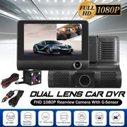 "Best Car Camcorders - 4"" HD Full HD 1080P 170° Night Vision Review"