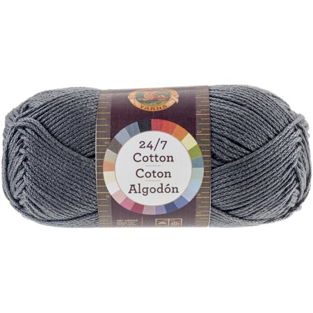 24/7 Cotton Yarn, Charcoal