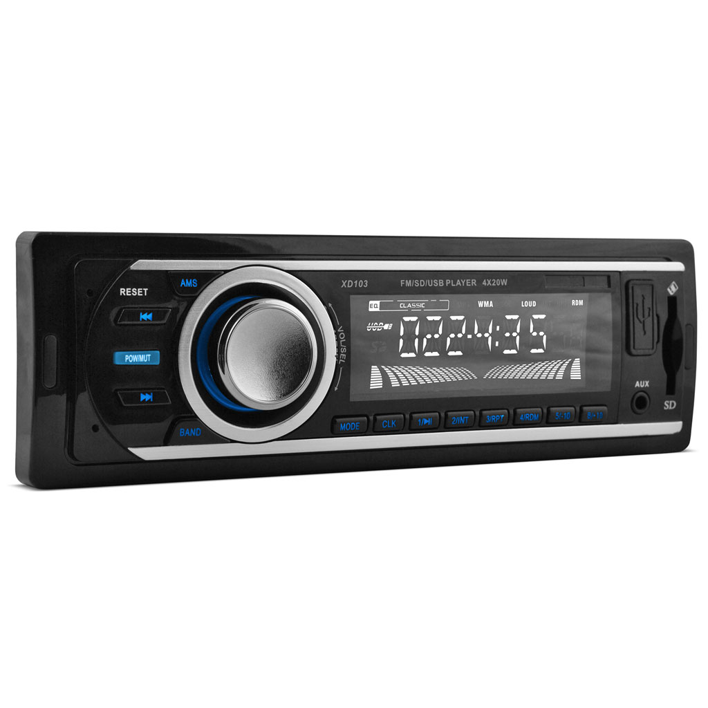 xo vision xd103 fm and mp3 stereo receiver usb port and sd xo vision xd103 fm and mp3 stereo receiver usb port and sd card slot walmart com