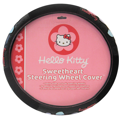 Plasticolor Hello Kitty Heart with Bow Steering Wheel Cover