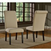 Modus Monroe Regent Linen Parsons Dining Chair - Beige - Set of 2