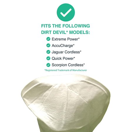 4 Washable Reusable Dirt Devil Style F4 Filters Compare To Dirt Devil Part No 3me1950001 2me1950001 Designed Engineered By Think Crucial By Crucial Vacuum Walmart Com Walmart Com