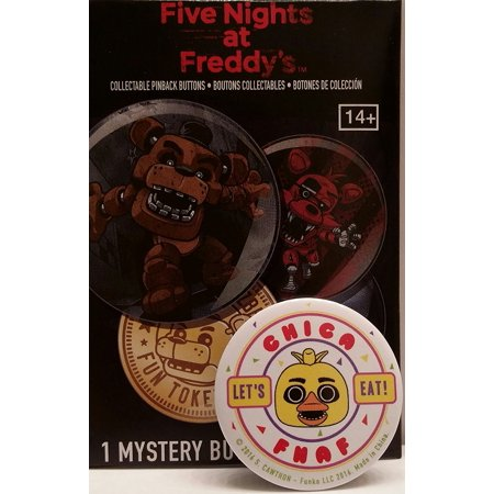 Funko POP! Buttons - Five Nights at Freddy's - Chica - Chica Show