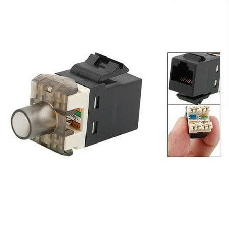 50 Pcs 8P8C Keystone CAT6 110 RJ45 Netwrok Socket Punch Down Modular Jack -