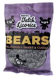 Gerrit's Sugared Licorice Bears by Gerrit J Verburg CO
