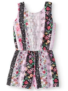 0cf3d5e80c30 Little Girls Dresses   Rompers - Walmart.com