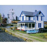 walthers cornerstone ho scale building/structure kit aunt lucy's house/home