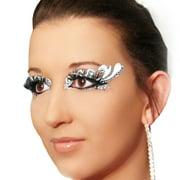 Forever Xotic Eyes Silver Glitter Eye Paint Sexy Eyes Dancer Stripper Costume