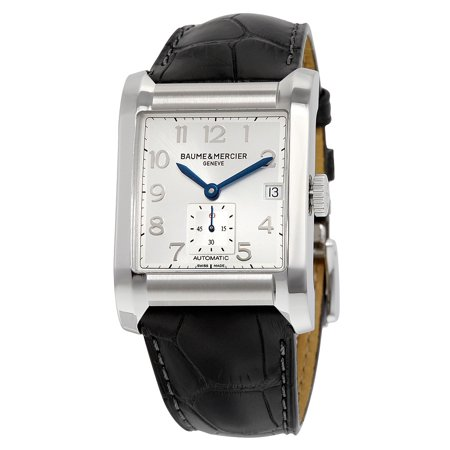 Baume and Mercier Hampton Automatic Silver Dial Mens Watch 10026