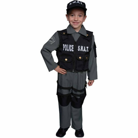 S.W.A.T. Child Halloween Costume - Kids Swat Costumes