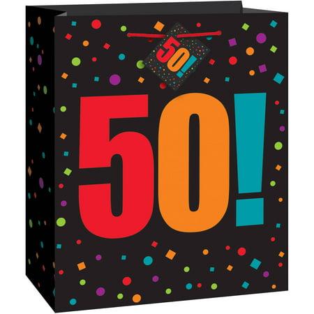 Birthday Cheer 50th Gift Bag