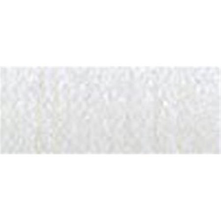 Metallic White (15851  Very Fine Metallic Braid No. 4 11 Meters - 12 Yards --White Hi)