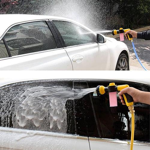 Heepo Multifunctional Hand Spray Nozzle Car Washing Tool Foam Water Gun Cleaning Kit
