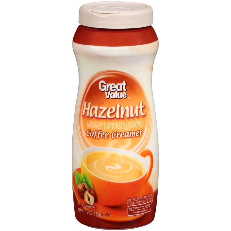 Great Value Hazelnut Coffee Creamer, 15 oz
