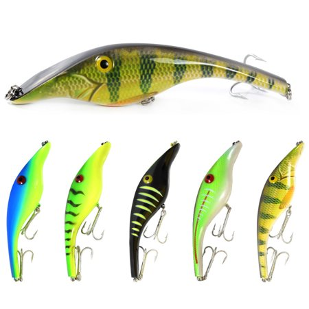 5.5in / 1.5oz Bionic Fishing Lure Hard Body Sinking Bait Fishing Bass Lure Fishing Lure Artificial Bait Lifelike Crankbait Hooks Fishing Tackle - image 1 of 7