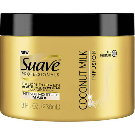- Suave Professionals Coconut Milk Infusion Intense Moisture Mask, 8 oz