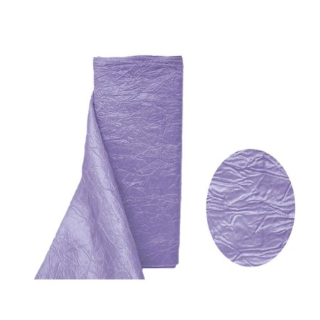 """12"""" x 10 Yard Taffeta Crinkle Fabric Bolt Wedding Party Decor-Sewing DIY Crafts Fabrics Lavender"""