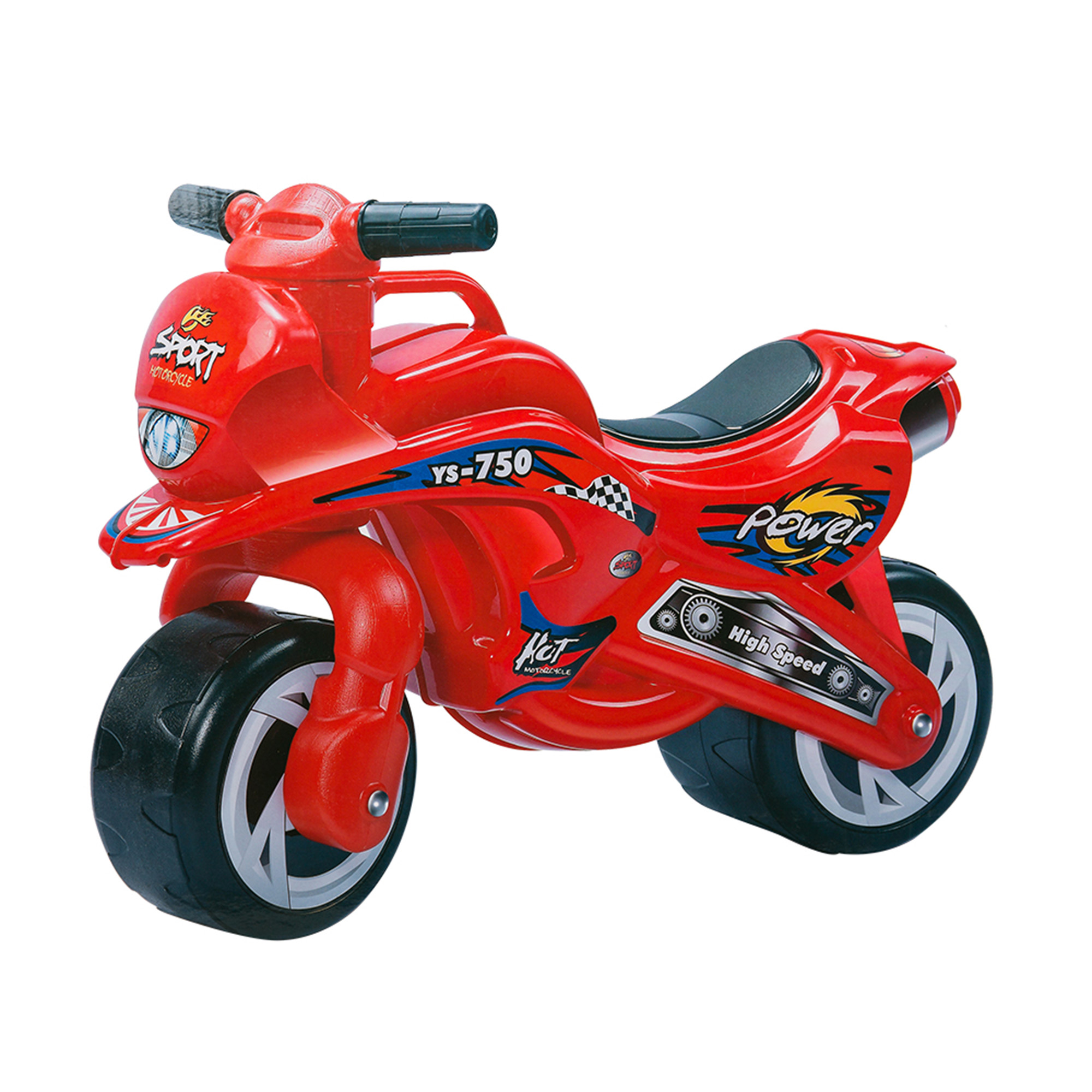 KARMAS PRODUCT Kids Ride On Motorcycle Model Car Toy Red