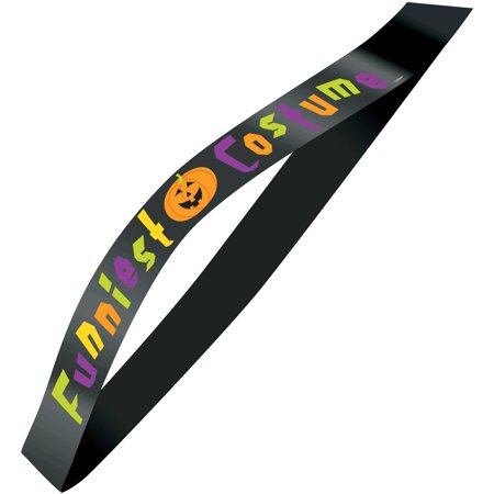 Funniest Costume Halloween Sash - Funniest Halloween