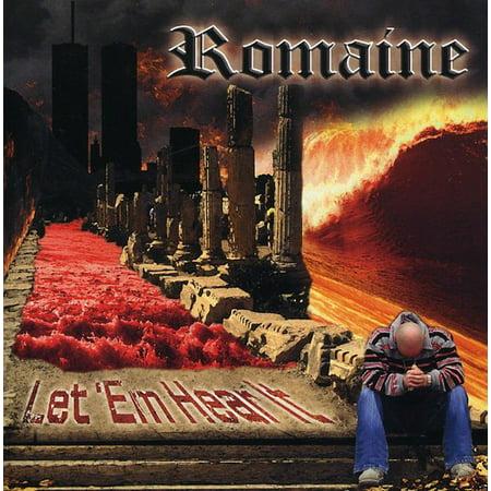 Romaine   Let Em Hear It  Cd