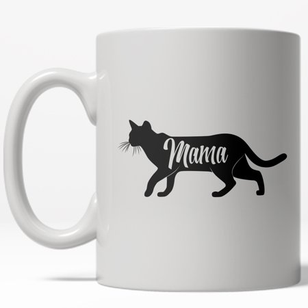 Mother's Day Mugs (Mama Cat Mug Funny Mothers Day Grandmother Kitty Coffee)