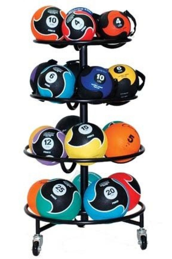 Champion Sports Medicine Ball Rack (holds 22 Balls) by Champion Sports