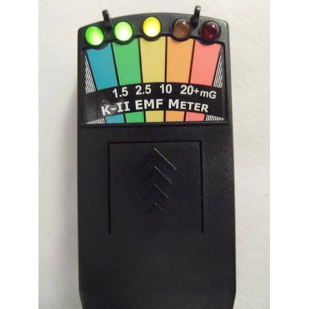 K2 KII EMF Meter Deluxe BLACK-New & Improved (Best Emf Meters)