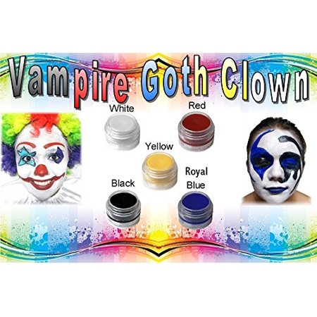 Face Paint Vampire Goth Clown All Natural Non Toxic