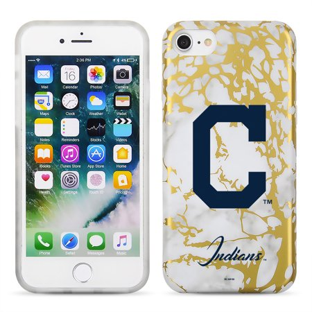 the latest 7c5d7 e333a Cleveland Indians Marble iPhone 6/6s/7/8 Case - No Size