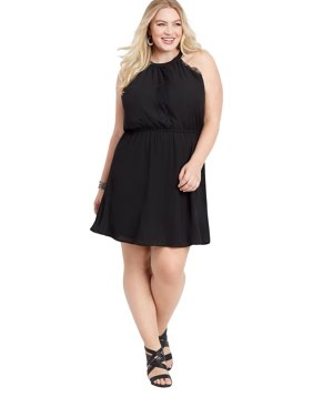 eaee85eba88 Product Image maurices Lace Trim Halter Dress - Plus Size Women s