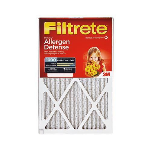 3M 9803-6 Filtrete Allergen Defense Red Micro or Micron o...