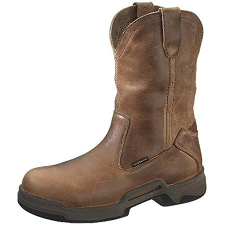 b37033fb8cc Men's Wolverine 10 inch Griffin Durashocks SR Steel Toe Electrical Hazard  Wellington Boots Tan, TAN, 8M