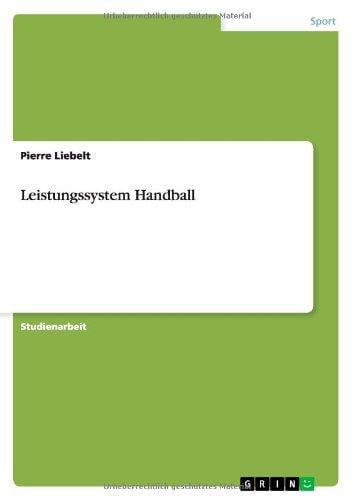 Leistungssystem Handball by