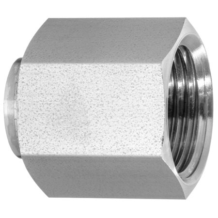37 Degree Flared Tube Fitting - 316 Stainless Steel - Cap - 3/8