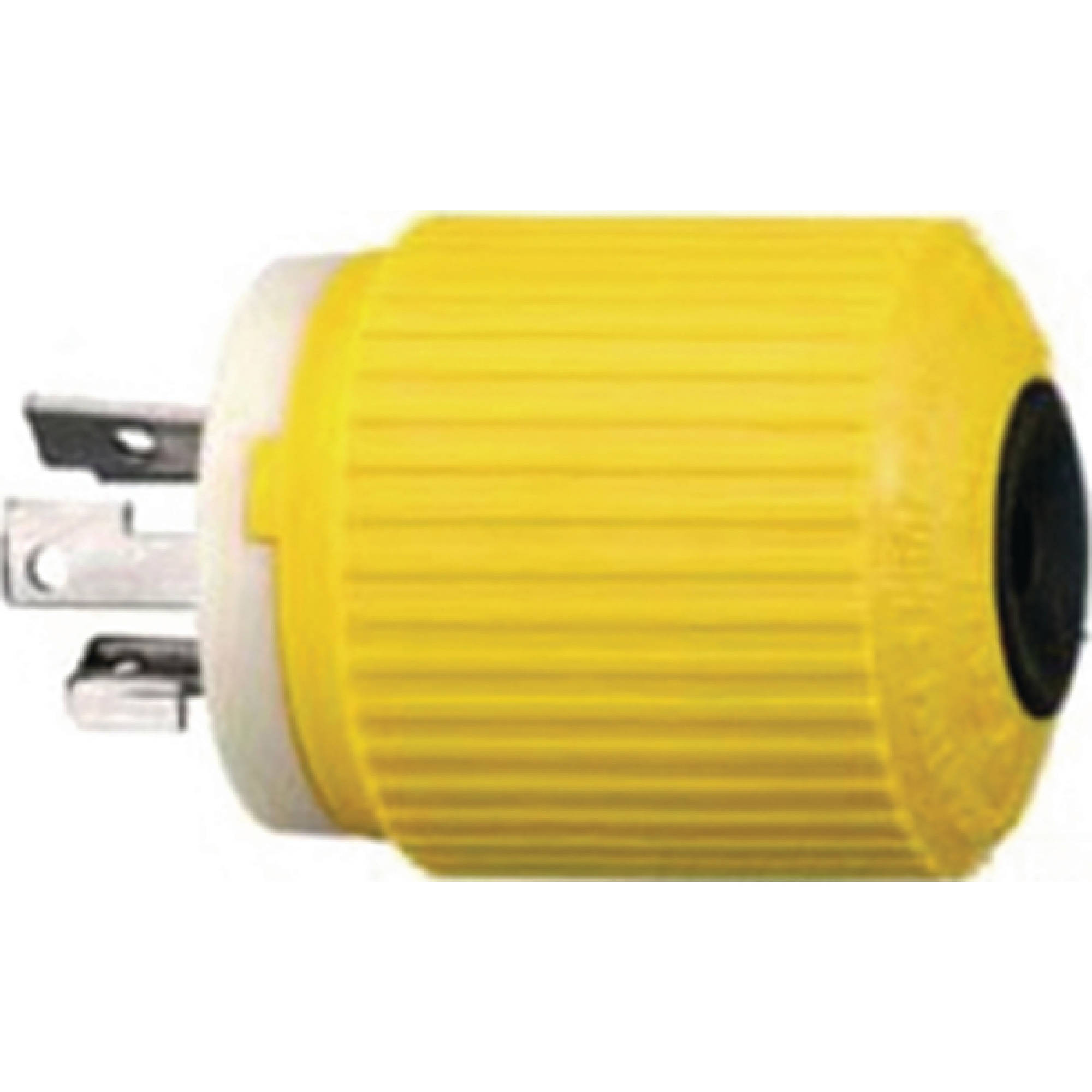 Hubbell HBL328DCP Yellow Electric Fishing Reel 30A 28VDC Male Plug