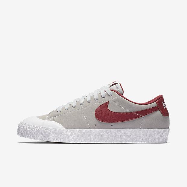 Mens Nike SB Blazer Zoom Low XT Pure Platinum White Gum Light Brown Ce