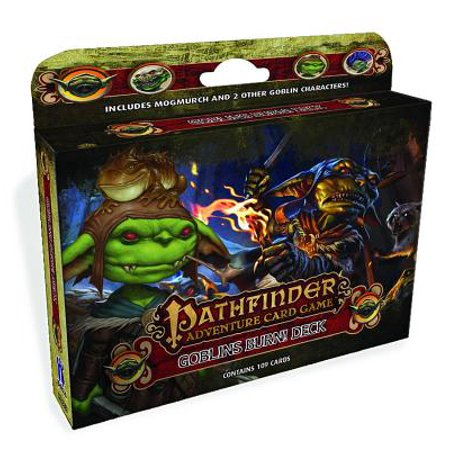 Pathfinder Adventure Card Game: Goblins Burn! Class Deck - Halloween Games To Play In Class