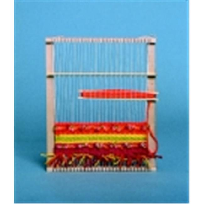 Jack Richeson Flat Peacock Finger Loom, 10 x 12 in.