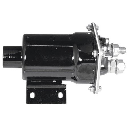 - Starter Solenoid - Delco Style - 24 Volt - 4 Terminal - Square Face, New, Case, 142327A1
