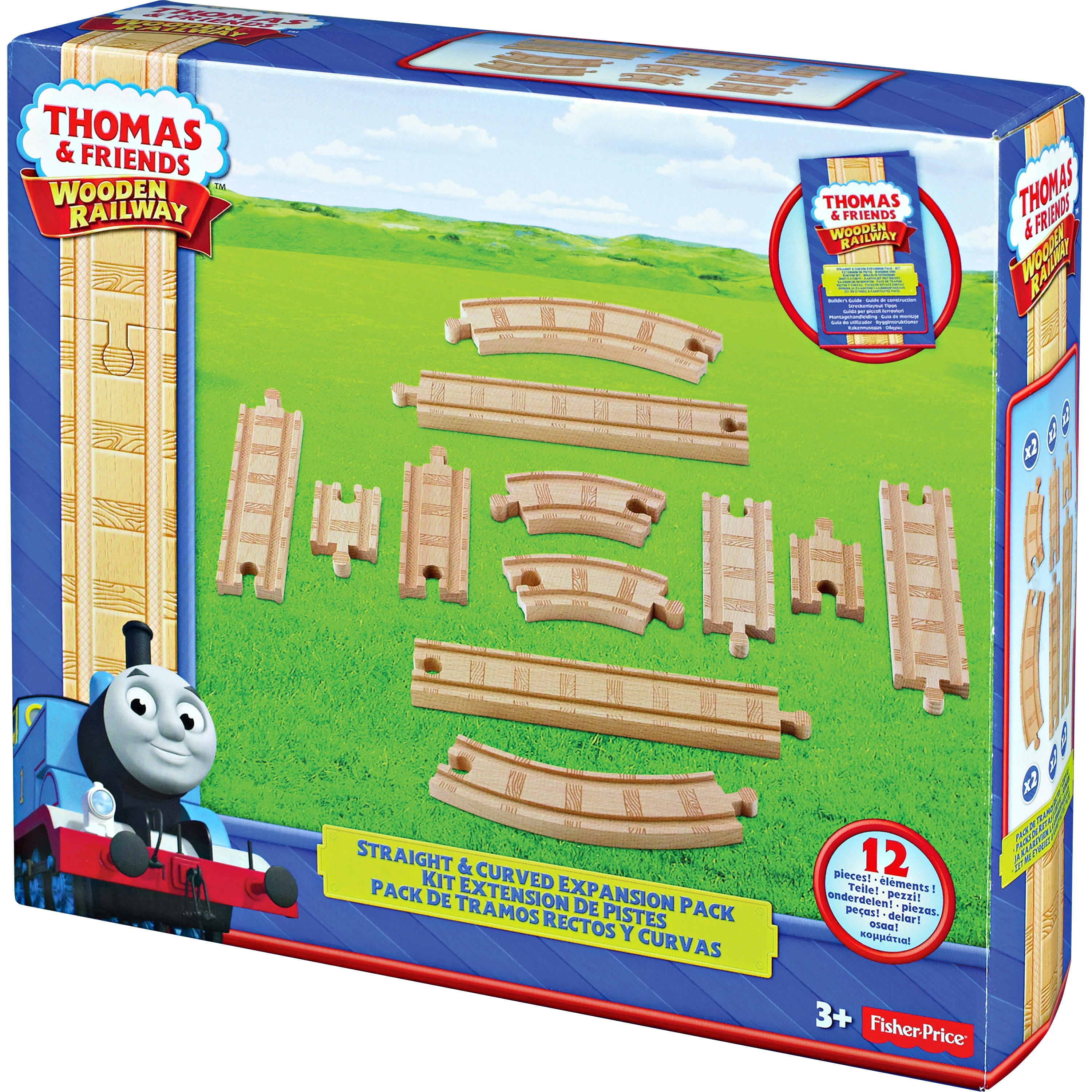 Thomas & Friends Str/Curved Expansn Pk