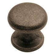 "Hickory Hardware PA1215 Windover Antique Antiqua 1"" Mushroom Cabinet Knob"