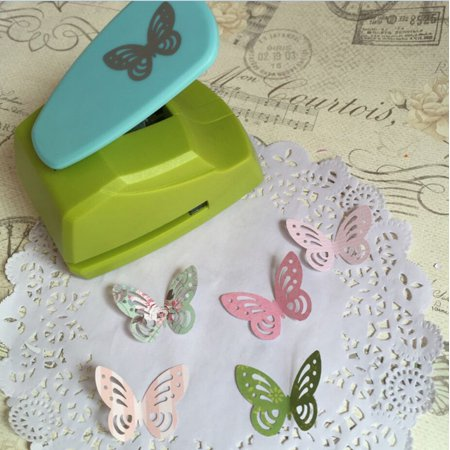 Hollow Butterfly Punch DIY Embossing Machine Paper Cutter Tool For DIY Card (Paper Embossing Tools)
