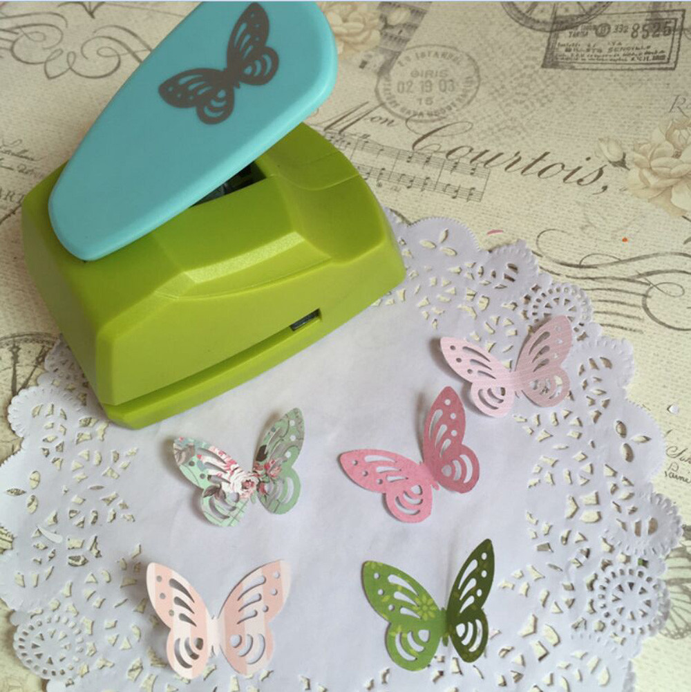Hollow Butterfly Punch DIY Embossing Machine Paper Cutter Tool For DIY Card
