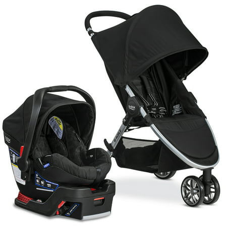 Britax 2017 B Agile   B Safe 35 Travel System  Black